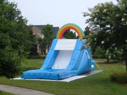 Over the Rainbow Water Slide